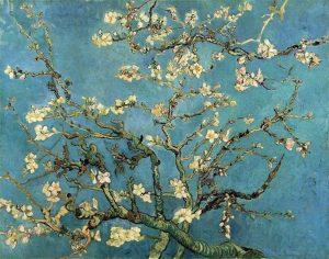 L'Amandier en fleurs de Vincent van Vogh