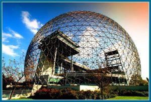 Dôme de la Biosphère à Montréal