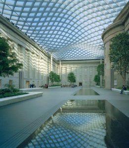 Les verrières de l'architecte Norman Foster