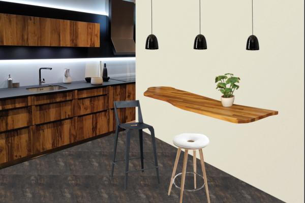 Planche mobilier de la cuisine