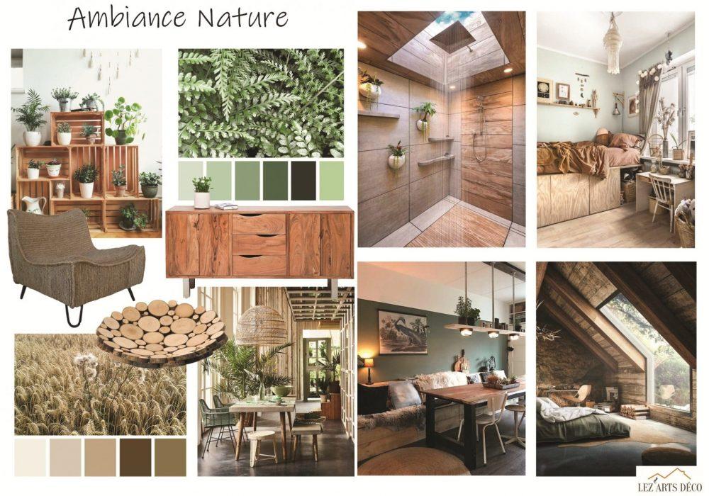 Planche de style nature