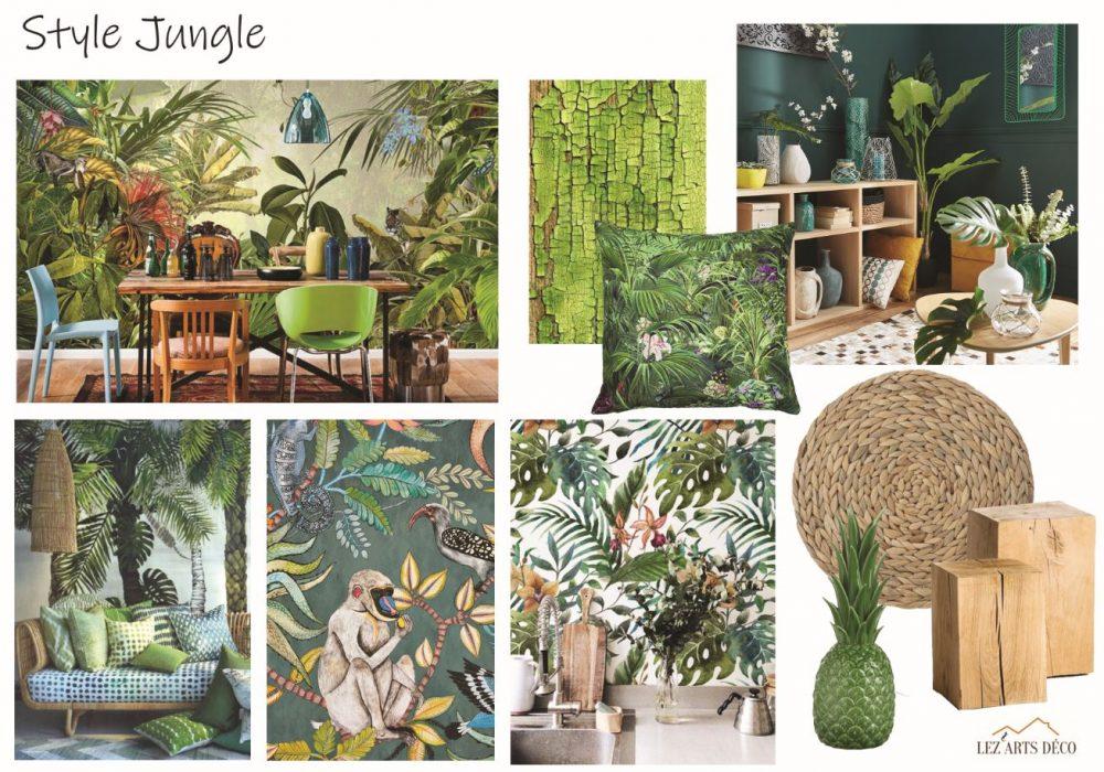 planche de style Jungle