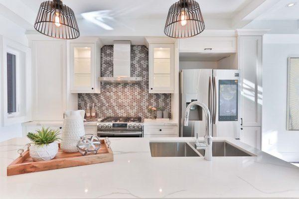 cuisine réaménagée : projection plus aisée grâce au home staging