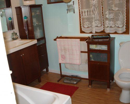 Salle de bain d'une maison dans le 91, avant travaux