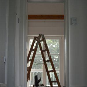 Escabeau pour faciliter le suivi des chantiers auprès des artisans