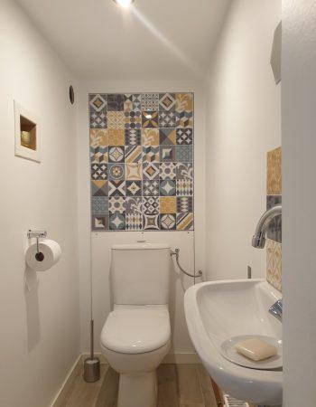 création d'un wc dans un espace perdu, vue après